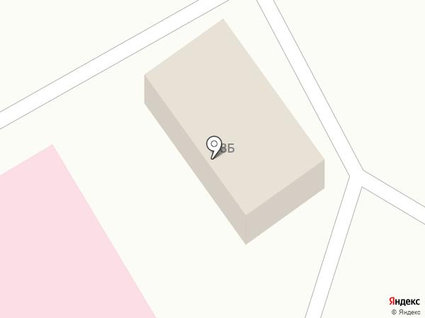 Арния на карте Тополево