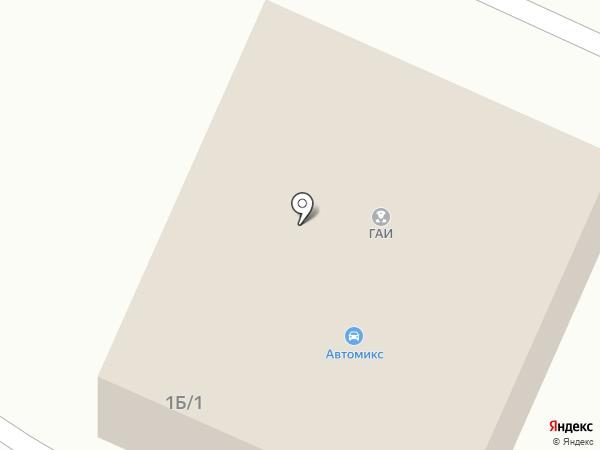 Автосервис на Клубной (Мирное) на карте Мирного