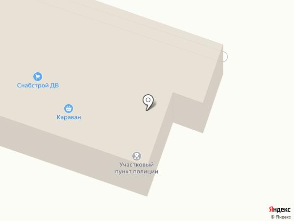 Бетон ДВ на карте Мирного