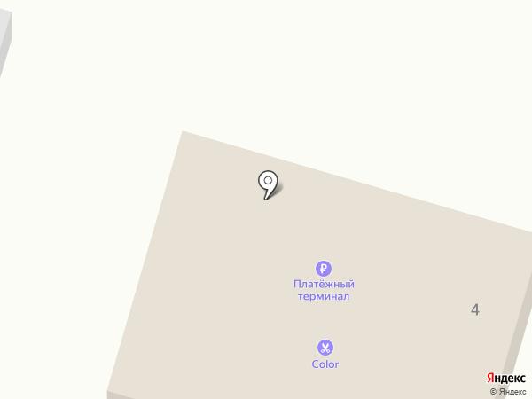 Минимаркет на карте Мирного