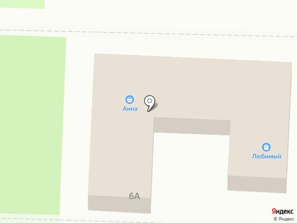 Анна на карте Некрасовки
