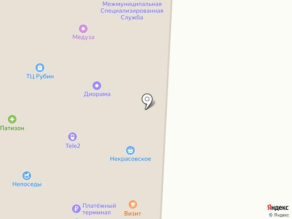 Солярис на карте Некрасовки
