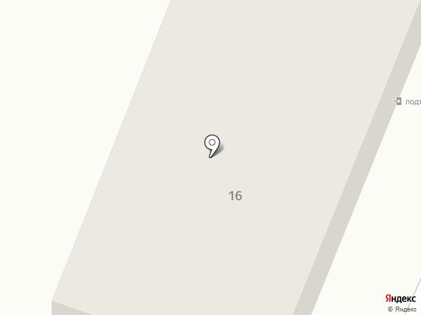 Магазин одежды и промтоваров на карте Комсомольска-на-Амуре