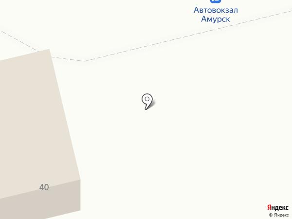 Золотой лотос на карте Амурска
