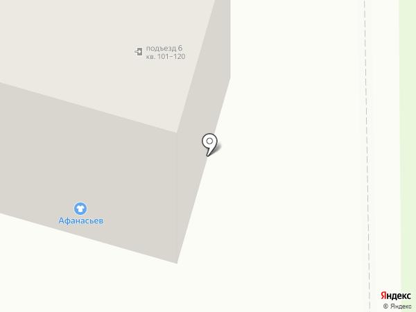Афанасьев на карте Амурска