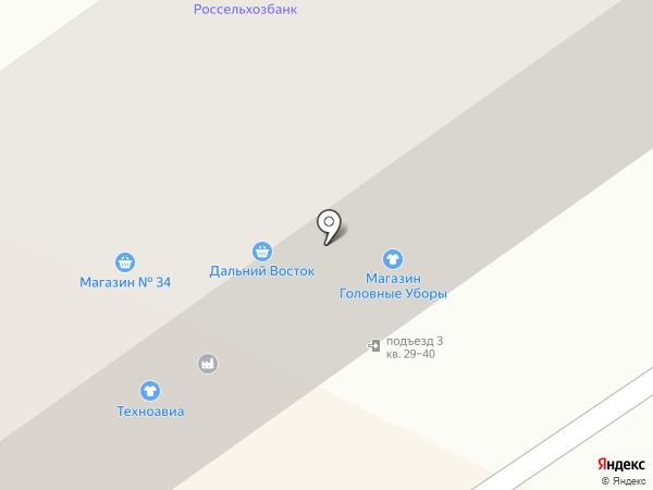 Декория на карте Амурска