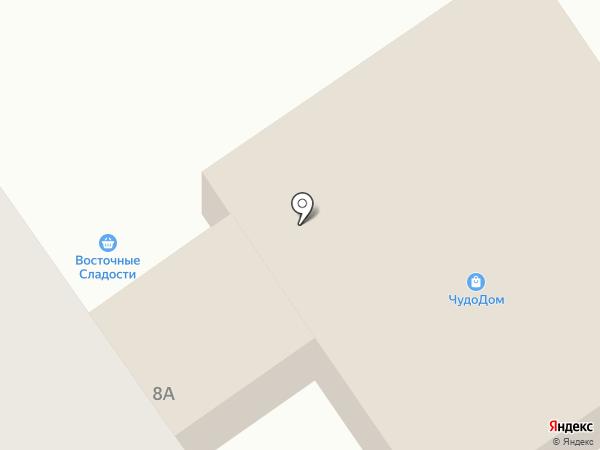 Магазин овощей и фруктов на карте Амурска
