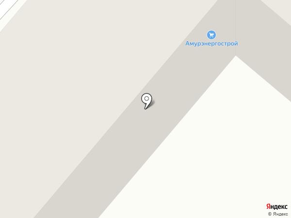 Валюшка на карте Амурска