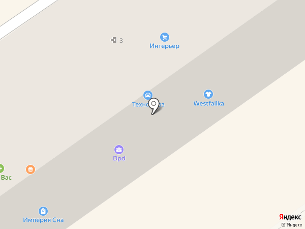 Росток на карте Амурска
