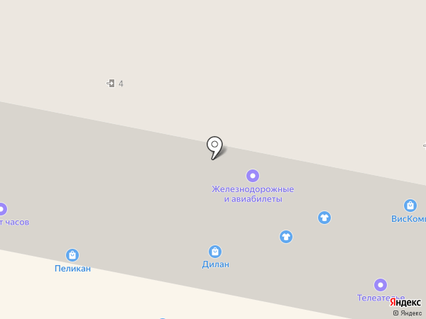 Магазин сувениров и искусственных цветов на карте Амурска