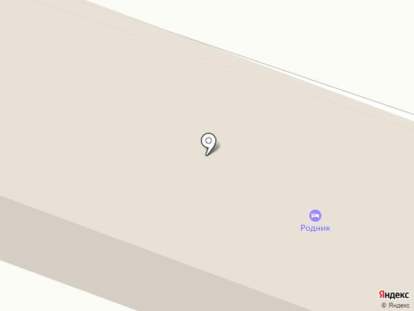Родник на карте Амурска