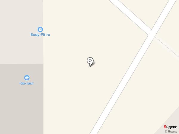 КОНТАКТ на карте Амурска