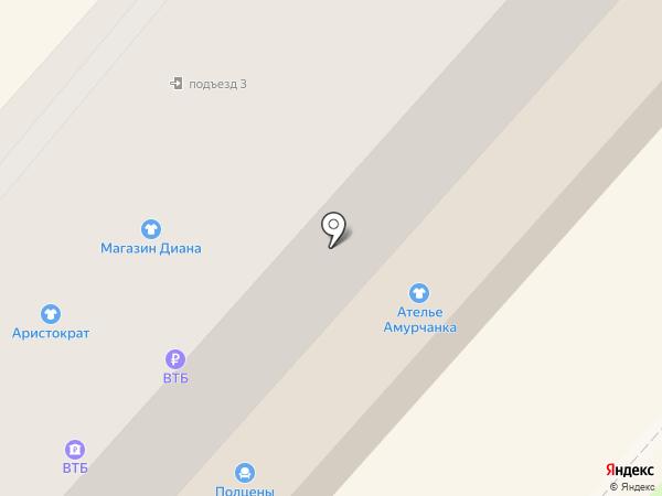 Диана на карте Амурска