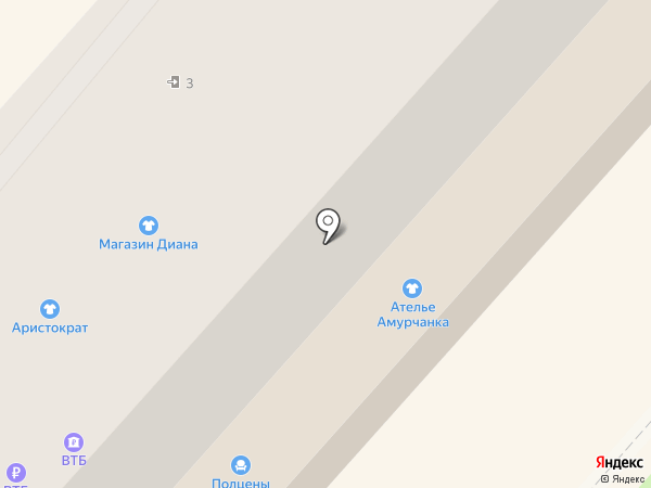Новая Волна на карте Амурска