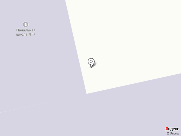 Начальная общеобразовательная школа №7 на карте Амурска