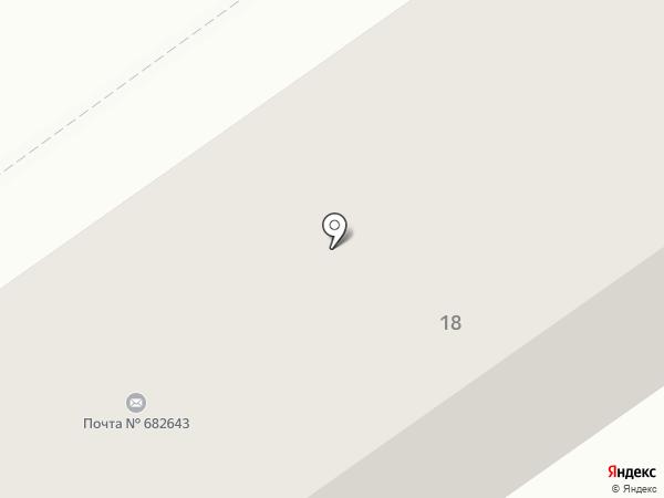 Тайга на карте Амурска