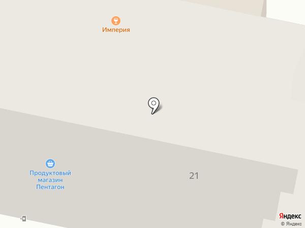 Пентагон на карте Амурска
