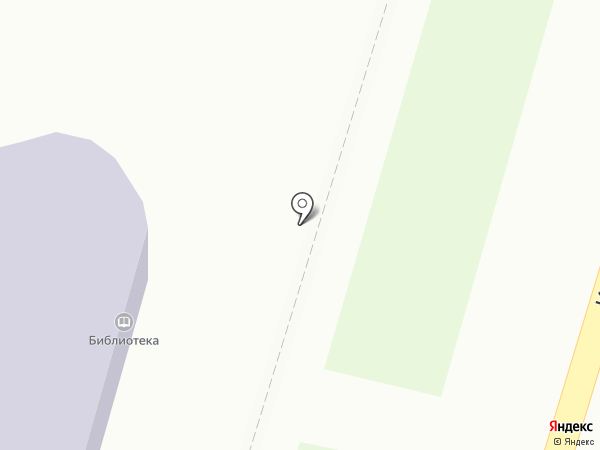 Городская библиотека на карте Амурска