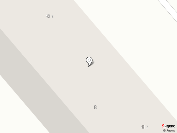 Сауна на Дружбе на карте Комсомольска-на-Амуре