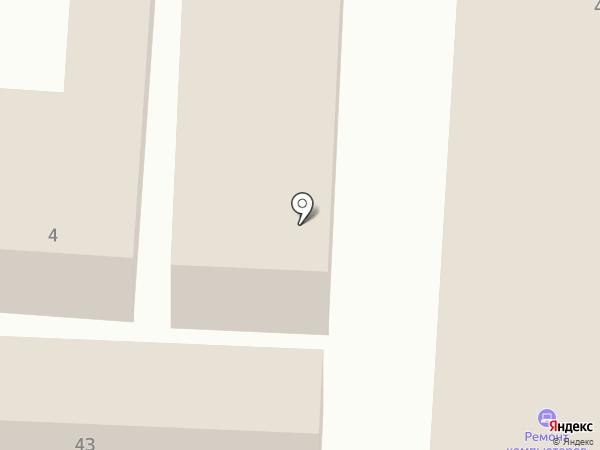 Магазин одежды и обуви на карте Комсомольска-на-Амуре