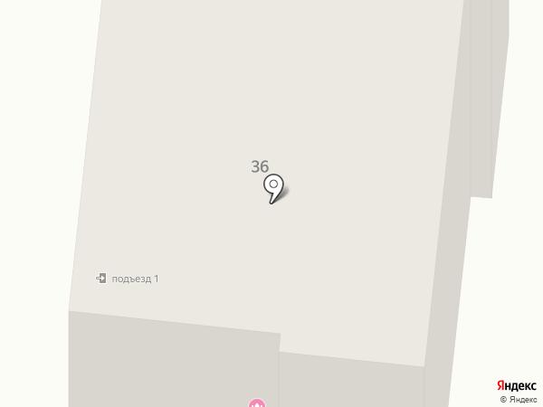 Космео-Арт на карте Комсомольска-на-Амуре