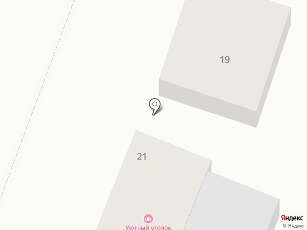Деревенька на карте Комсомольска-на-Амуре
