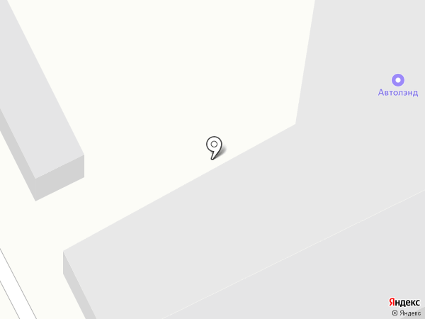 АВТОЛЭНД на карте Комсомольска-на-Амуре