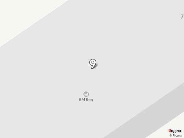 Комсомольская алюминиевая компания на карте Комсомольска-на-Амуре