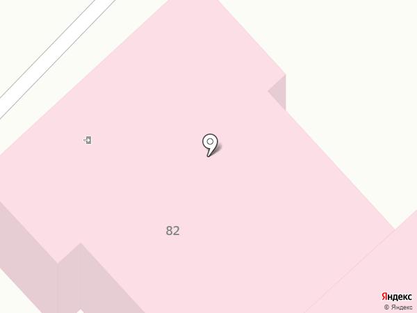 Поликлиника №4 на карте Комсомольска-на-Амуре