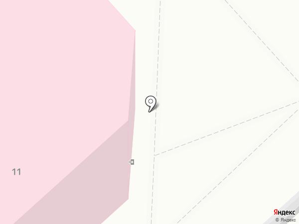 Железнодорожная больница на карте Комсомольска-на-Амуре