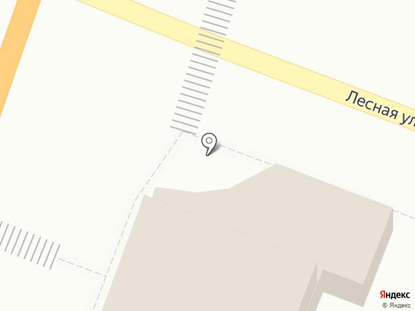 Автомагазин на карте Комсомольска-на-Амуре