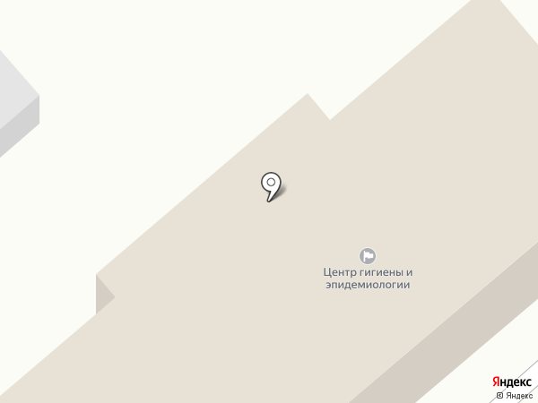 Центр гигиены и эпидемиологии по железнодорожному транспорту на карте Комсомольска-на-Амуре