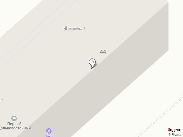 Сундучок на карте Комсомольска-на-Амуре