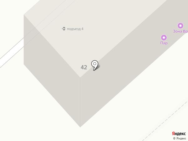 Движок на карте Комсомольска-на-Амуре