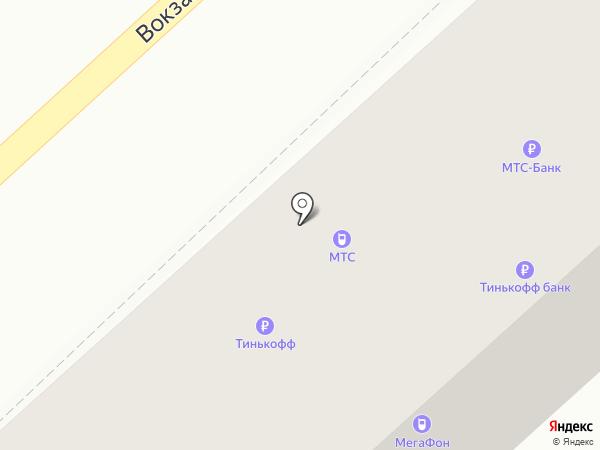 Банкомат, МТС-банк, ПАО на карте Комсомольска-на-Амуре