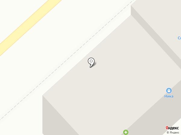 1й Молочный на карте Комсомольска-на-Амуре