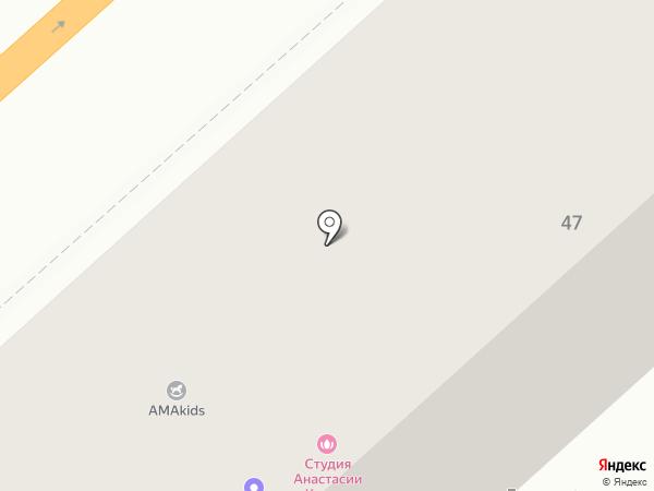 Мон Амур на карте Комсомольска-на-Амуре