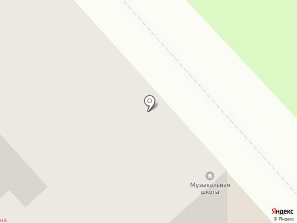 Музыкальная школа на карте Комсомольска-на-Амуре