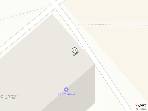 Магазин домашней сантехники на карте Комсомольска-на-Амуре