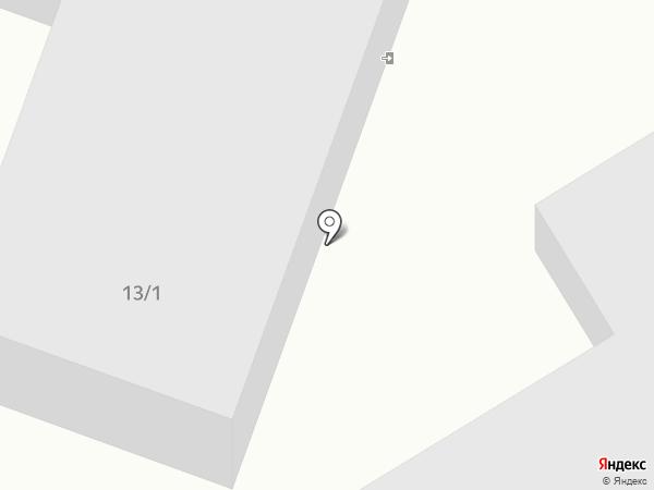 Авто на карте Комсомольска-на-Амуре