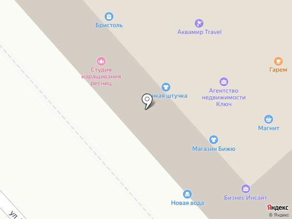 Бижю на карте Комсомольска-на-Амуре