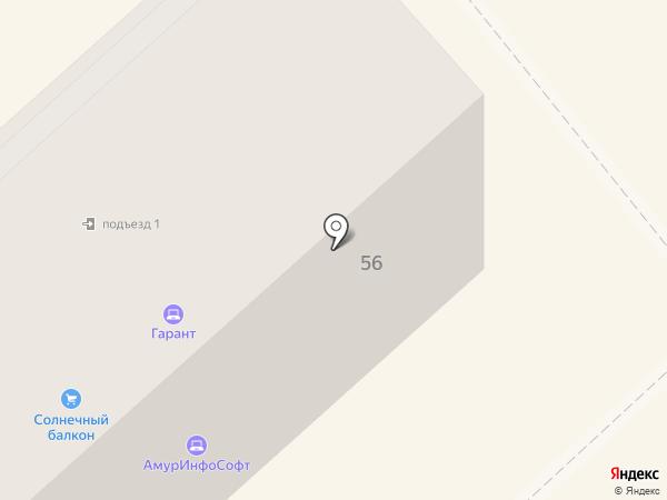 ЛЕТО.РУ на карте Комсомольска-на-Амуре