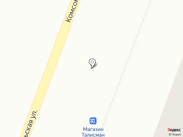 Хлебозавод №1 на карте Комсомольска-на-Амуре