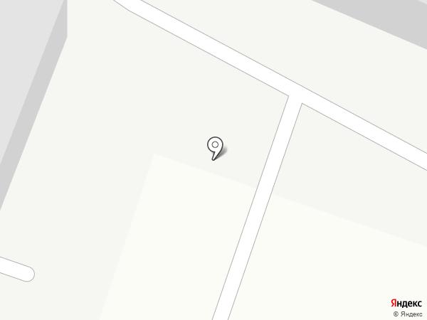 Автостоянка на Хасановской на карте Комсомольска-на-Амуре