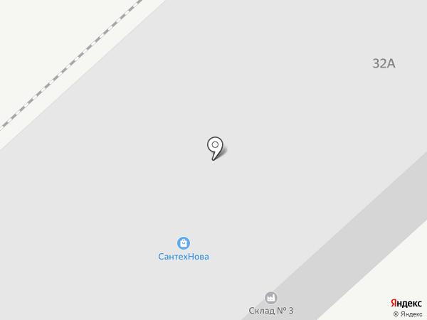 Прораб на карте Комсомольска-на-Амуре