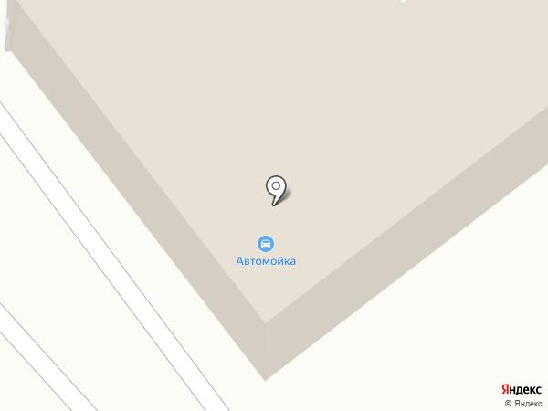 Автомойка на карте Комсомольска-на-Амуре