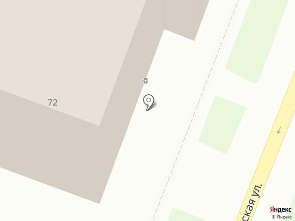 Швейник на карте Комсомольска-на-Амуре