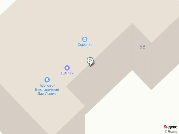 LETTO на карте Комсомольска-на-Амуре