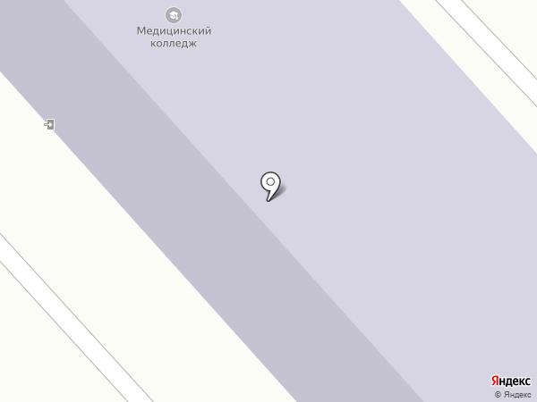 Хабаровский государственный медицинский колледж на карте Комсомольска-на-Амуре