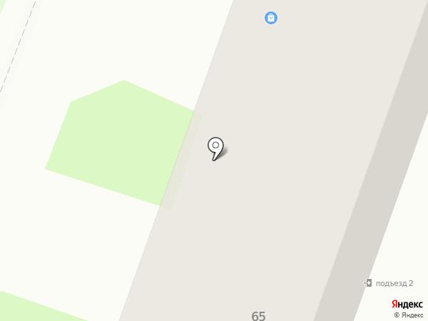 Магазин профессиональной косметики на карте Комсомольска-на-Амуре